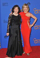 Jane Fonda &amp; Lily Tomlin at the 72nd Annual Golden Globe Awards at the Beverly Hilton Hotel, Beverly Hills.<br /> January 11, 2015  Beverly Hills, CA<br /> Picture: Paul Smith / Featureflash