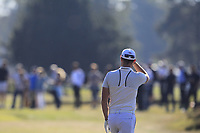 Danny Willett (ENG) on the 3rd fairway during the Pro-Am for the Sky Sports British Masters at Walton Heath Golf Club in Tadworth, Surrey, England on Tuesday 10th Oct 2018.<br />