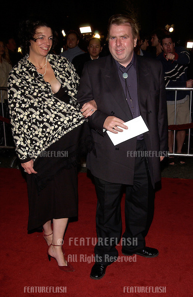 Actor TIMOTHY SPALL & wife at the world premiere, in Hollywood, of his new movie Vanilla Sky..10DEC2001. .© Paul Smith/Featureflash