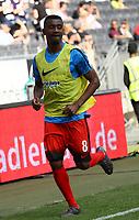 Salomon Kalou (Hertha BSC Berlin) - 21.04.2018: Eintracht Frankfurt vs. Hertha BSC Berlin, Commerzbank Arena