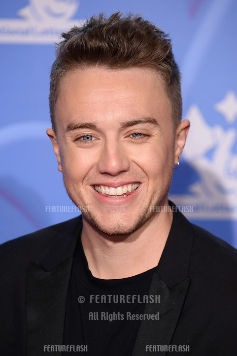 LONDON, UK. September 21, 2018: Roman Kemp at the National Lottery Awards 2018 at the BBC Television Centre, London.<br /> Picture: Steve Vas/Featureflash