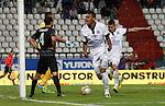 Once Caldas venció 1-0 a Atlético Nacional en el estadio Palogrande de la ciudad de Manizales y acabó con siete fechas sin ganar en la Liga Colombiana de fútbol profesional.