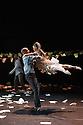 Baden Baden, Germany. 14.06.2013. Cedar Lake Contemporary Ballet, in NECESSITY, AGAIN, choreographed by Jo Strømgren. Photograph © Jane Hobson, 2013.