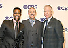 Nate Burleson, Bill Cowher and Boomer Esiason attend the CBS Upfront 2018-2019 at The Plaza Hotel in New York, New York, USA on May 16, 2018.<br /> <br /> photo by Robin Platzer/Twin Images<br />  <br /> phone number 212-935-0770