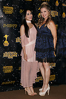 LOS ANGELES - JUN 28:  Aimee Garcia, Clare Kramer at the 43rd Annual Saturn Awards - Press Room at the The Castawa on June 28, 2017 in Burbank, CA