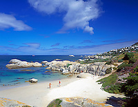 South Africa, Cape Town, near Simon's Town, deserted beach at Oatland's Point