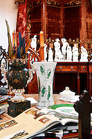 vintage vases and statuettes