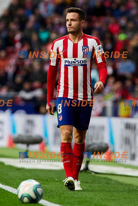 Saul Niguez of Atletico de Madrid during La Liga match between Atletico de Madrid and RCD Espanyol at Wanda Metropolitano Stadium in Madrid, Spain. November 10, 2019. (ALTERPHOTOS/A. Perez Meca)<br /> Liga Spagna 2019/2020 <br /> Atletico Madrid - Espanyol <br /> Photo Alterphotos / Insidefoto <br /> ITALY ONLY
