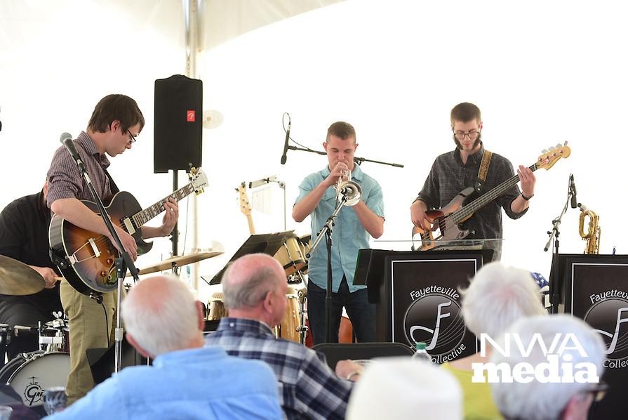 NWA Democrat Gazette/SPENCER TIREY  The Northwest Arkansas Jazz Society invites you to Jazz in Bloom