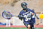 San Diego, CA 05/25/13 - Ty Tuey (Del Norte #30) in action during the CIF San Diego Section Boys Division 2 Lacrosse Championship game.  Parker defeated Del Norte 12-4 for the 2013 title.