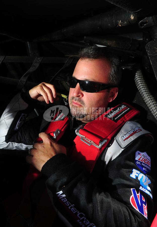 Apr 15, 2011; Surprise, AZ USA; LOORRS driver Greg Adler (10) during round 3 and 4 at Speedworld Off Road Park. Mandatory Credit: Mark J. Rebilas-.