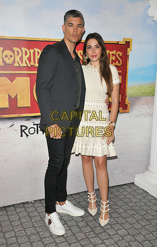 """Rayer Van-Ristell and Nurce Erben at the """"Horrible Histories: The Movie - Rotten Romans"""" world film premiere, Odeon Luxe Leicester Square, Leicester Square, London, England, UK, on Sunday 07th July 2019.<br /> CAP/CAN<br /> ©CAN/Capital Pictures"""