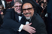 Oscar&reg; winners Guillermo del Toro and Alejandro Gonz&aacute;lez I&ntilde;&aacute;rritu at the The 90th Oscars&reg; at the Dolby&reg; Theatre in Hollywood, CA on Sunday, March 4, 2018.<br /> *Editorial Use Only*<br /> CAP/PLF/AMPAS<br /> Supplied by Capital Pictures