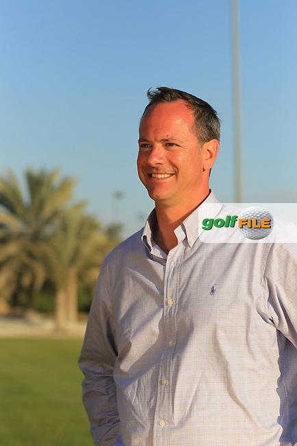 Chris Card Group General Manager, Abu Dhabi Golf Club, Saadiyat Beach Golf Club pictured at the Abu Dhabi HSBC Golf Championship in the Abu Dhabi golf club, Abu Dhabi, UAE..Picture: Fran Caffrey/www.golffile.ie.