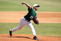 Dartmouth Big Green pitcher Cole Sulser #13 during a game vs. the Northwestern Wildcats at Chain of Lakes Park in Winter Haven, Florida;  March 20, 2011.  Northwestern defeated Dartmouth 3-2.  Photo By Mike Janes/Four Seam Images