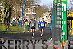 Frank O'Regan and Cyril Stack at the Valentines 10 mile road race in Tralee on Saturday.
