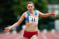 29 JUL 2009 - LOUGHBOROUGH, GBR - Lucy Sargent - 100m -  Loughborough European Athletics Permit Meeting.(PHOTO (C) NIGEL FARROW)
