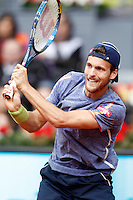 Joao Sousa, Portugal, during Madrid Open Tennis 2016 match.May, 6, 2016.(ALTERPHOTOS/Acero) /NortePhoto