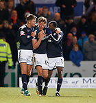 Mark O'Hara celebrates his second goal