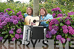 CD LAUNCH: Breda McGovern right and Noreen Finn left, from Annascaul who will launch there CD Na Cailini in September..