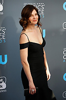 Betsy Brandt attends the 23rd Annual Critics' Choice Awards at Barker Hangar in Santa Monica, Los Angeles, USA, on 11 January 2018. Photo: Hubert Boesl - NO WIRE SERVICE - Photo: Hubert Boesl/dpa /MediaPunch ***FOR USA ONLY***