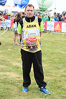 Adam Woodyatt at the start of the 2017 London Marathon on Blackheath Common, London, UK. <br /> 23 April  2017<br /> Picture: Steve Vas/Featureflash/SilverHub 0208 004 5359 sales@silverhubmedia.com