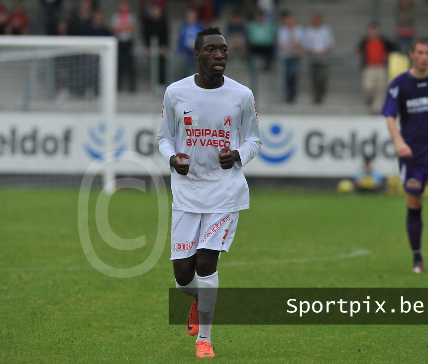 KV Kortrijk : Blanstel Koussalouka.foto VDB / BART VANDENBROUCKE
