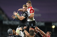 Daniel du Preez of the Cell C Sharks during the Vodacom Super Rugby match between the Cell C Sharks and the Emirates Lions the at Growthpoint Kings Park in Durban, South Africa. 15th July 2017(Photo by Steve Haag)