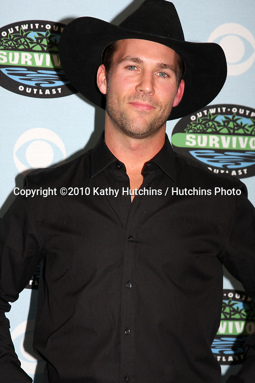 "Colby Donaldson.arrivng at the ""Survivor"" 10 Year Anniverary Party .CBS Television CIty.Los Angeles, CA.January 9, 2010.©2010 Kathy Hutchins / Hutchins Photo...."