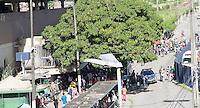 ECIFE,PE,03.08.2015 - TRANSPORTE-GREVE - Avenida Conde da Boa Vista, é vista sem movimentação de ônibus coletivo, rodoviários paralisaram trabalho contra decisão do tribunal superior do trabalho ,nesta segunda-feira ,03 . (Foto: Jean Nunes/Brazil Photo Press)