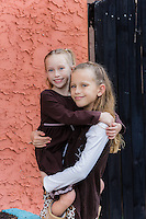 Kylie and Emory Sutherland in downtown Largo, Florida