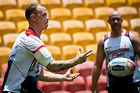 Rugby League World Cup. Kevin Brown during England captain's run. Brisbane, Australia. 28 Nov 2017. Copyright photo: Patrick Hamilton / www.photosport.nz MANDATORY CREDIT/BYLINE : Patrick Hamilton/SWpix.com/PhotosportNZ