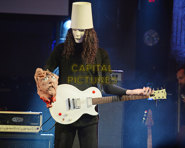 FORT LAUDERDALE, FL - May 28: Brian Patrick Carroll AKA Buckethead performs at The Culture Room on May 28, 2016 in Fort Lauderdale, Florida. <br /> CAP/MPI04<br /> &copy;MPI04/Capital Pictures