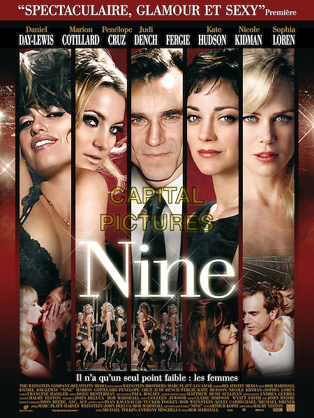 POSTER ART<br /> in Nine (2009) <br /> *Filmstill - Editorial Use Only*<br /> CAP/NFS<br /> Image supplied by Capital Pictures