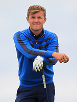 Robbie Pierse (Grange) on the 16th tee during Round 4 of the East of Ireland Amateur Open Championship at Co. Louth Golf Club in Baltray on Monday 5th June 2017.<br /> Photo: Golffile / Thos Caffrey.<br /> <br /> All photo usage must carry mandatory copyright credit     (&copy; Golffile | Thos Caffrey)