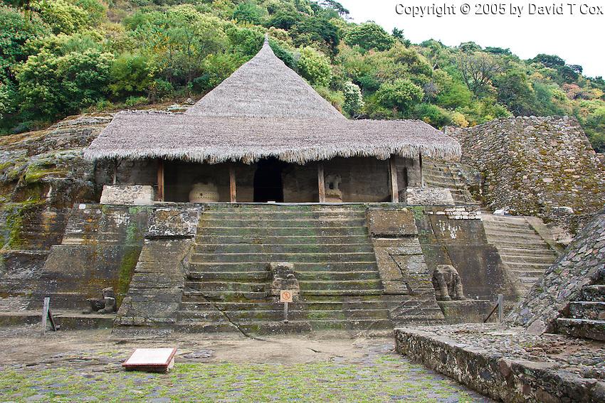Malinalco Aztec temple, Mexico