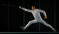 PICTURE BY BEN DUFFY/SWPIX - Olympic hopeful, Jon WIllis (Fencing, Fencer)
