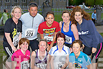 Keeping fit at the Feet first road race in Killarney on Friday night was front row l-r: Patricia Murray, Ursulla smith, Marie O'Mahony, Geraldine O'Sullivan. Back row: Katy O'Sullivan, John O'Donoghue, Jessica Anderson, Lynsey O'Sullivan and Sheila McGrath..