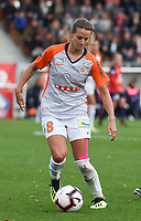20181027 - CAMPHIN-EN-PEVELE , FRANCE : Montpellier's Sandie Toletti pictured during the 8 th competition game between the women teams of Lille OSC and Montpellier Herault Sporting Club in the 2018-2019 season of the first Division - Ligue 1 at Domaine de Luchin , Saturday 27th Octobre 2018 ,  PHOTO Dirk Vuylsteke | Sportpix.Be