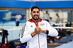 BG Media Day Lilleshall 15.10.15.Open training session ahead of the World Championships in Glasgow.Louis Smith MBE