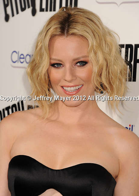 HOLLYWOOD, CA - SEPTEMBER 24: Elizabeth Banks attends the 'Pitch Perfect' - Los Angeles Premiere at ArcLight Hollywood on September 24, 2012 in Hollywood, California.