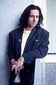 Mar 29, 1995: MARILLION - Steve Hogarth Photosession in London