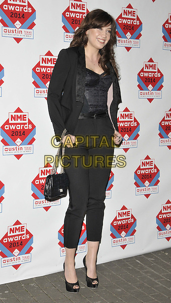 LONDON, ENGLAND - FEBRUARY 26: Daisy Lowe attends the NME Awards 2014, O2 Academy Brixton, Stockwell Rd., on Wednesday February 26, 2014 in London, England, UK.<br /> CAP/CAN<br /> &copy;Can Nguyen/Capital Pictures