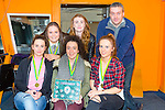 St. Mary's Castleisland Girls U18 at The Kerry Area Basketball Board annual Awards and Medal presentations at the Kingdom Greyhound Stadium Tralee on  Tuesday