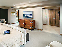 Bedroom Retreat with Touch Panel
