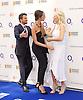 O2 Silver Clef Awards and lunch in aid of Nordoff Robbins 3rd July 2015 at Grosvenor House Hotel, Park Lane, London, Great Britain <br /> <br /> Red carpet arrivals <br /> <br /> Peter Andre<br /> his fianc&eacute;e Emily MacDonagh <br /> and Gaby Roslin <br /> <br /> <br /> Photograph by Elliott Franks<br /> <br /> 2015 &copy; Elliott Franks