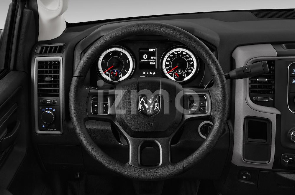 Car pictures of steering wheel view of a 2016 Ram Ram-3500-Pickup Tradesman-Regular-cab 4 Door Pick-up Steering Wheel