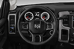 Car pictures of steering wheel view of a 2018 Ram Ram-3500-Pickup Tradesman-Regular-cab 4 Door Pick-up Steering Wheel