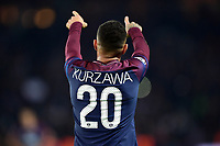 Celebration Esultanza de KURZAWA Layvin (PSG) apres son second but<br /> Parigi 31-10-2017 <br /> Paris Saint Germain - Anderlecht Champions League 2017/2018<br /> Foto Panoramic / Insidefoto