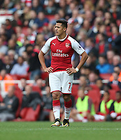 Arsenal's Alexis Sanchez<br /> <br /> Photographer Rob Newell/CameraSport<br /> <br /> The Premier League - Arsenal v AFC Bournemouth - Saturday 9th September 2017 - The Emirates - London<br /> <br /> World Copyright &copy; 2017 CameraSport. All rights reserved. 43 Linden Ave. Countesthorpe. Leicester. England. LE8 5PG - Tel: +44 (0) 116 277 4147 - admin@camerasport.com - www.camerasport.com